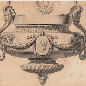 Charles de la Fosse - Estudio de lámpara.