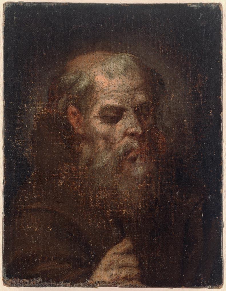 Blas de Prado – Cabeza de monje