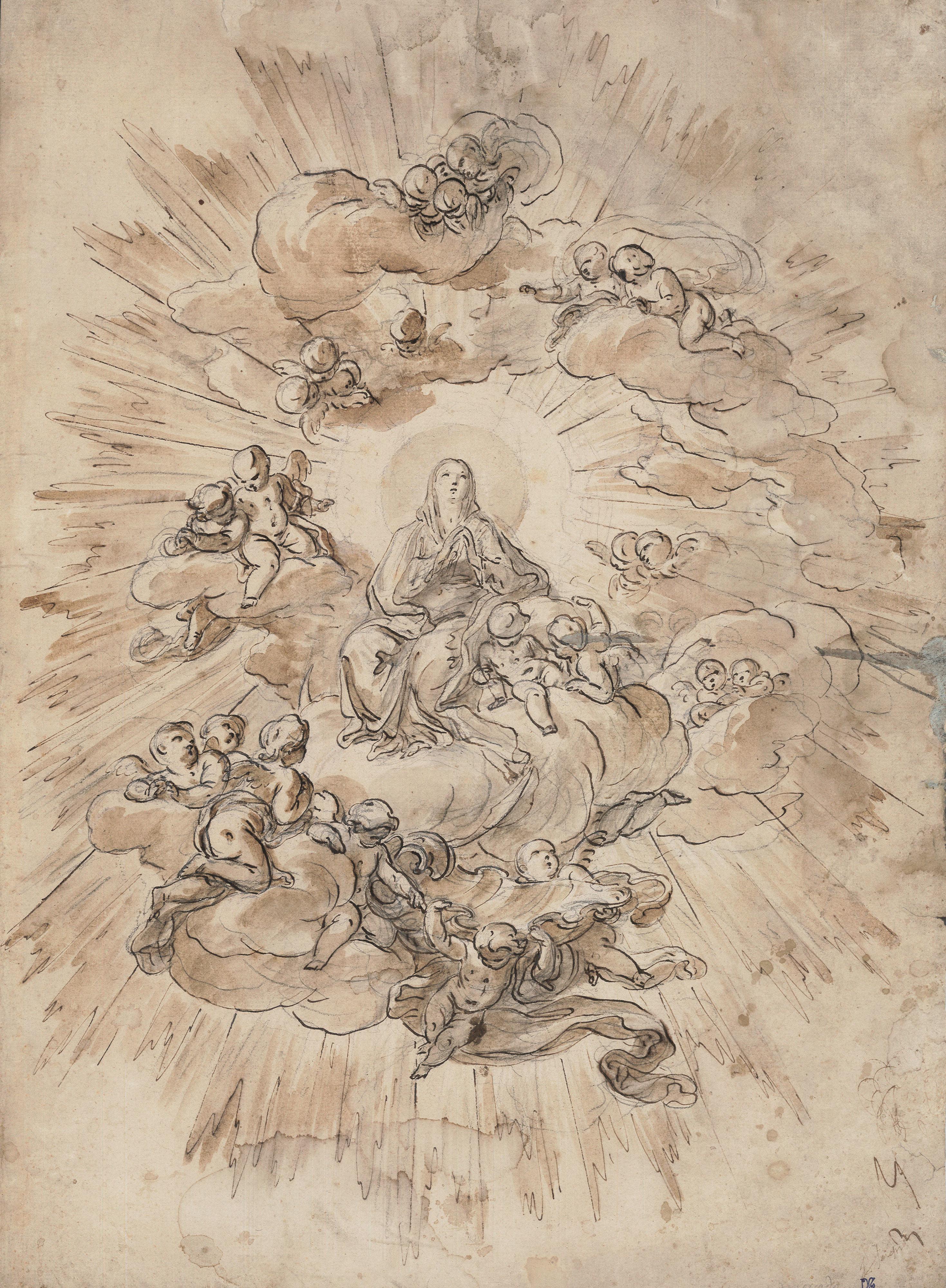 Corrado Giaquinto – Virgen en gloria