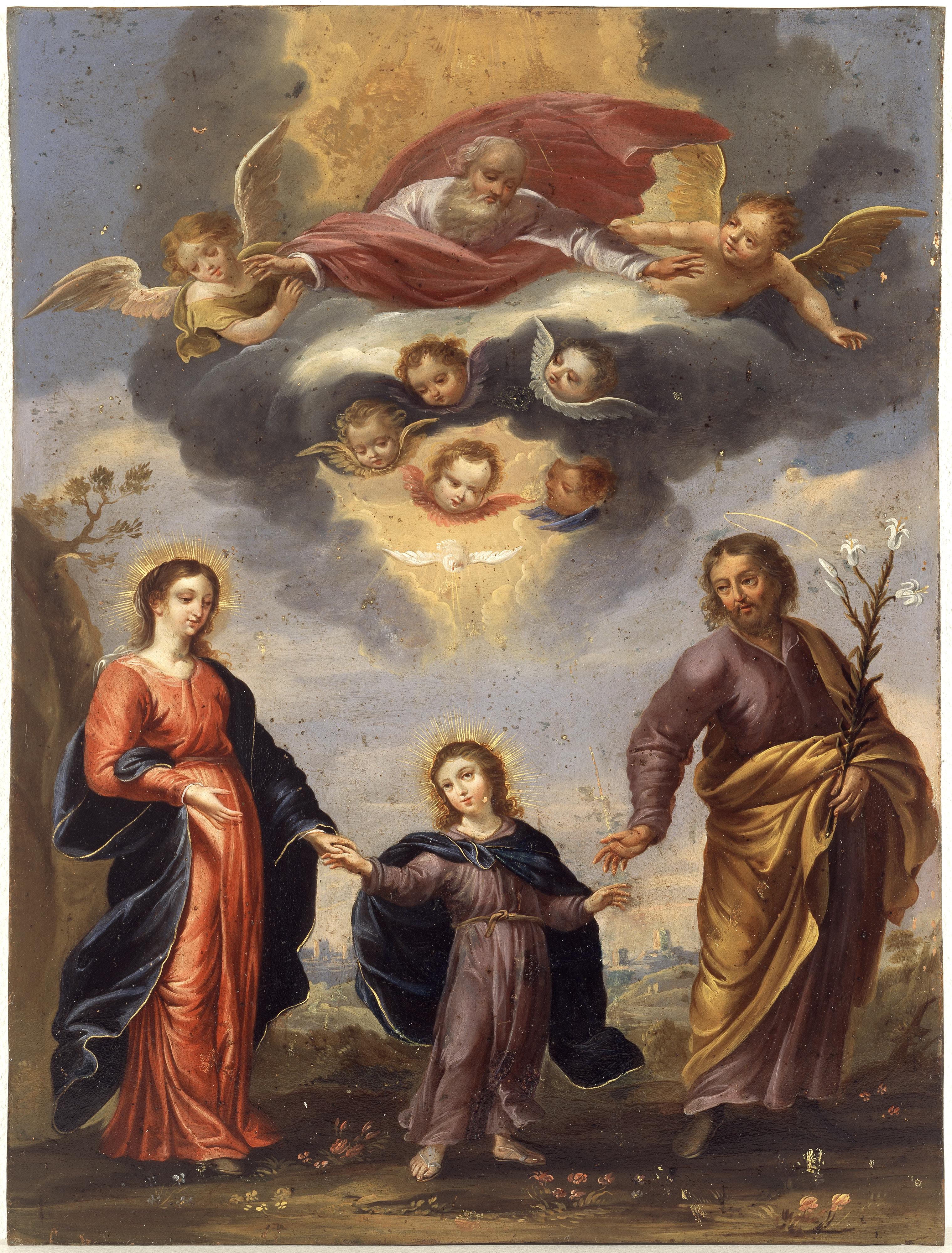 Escuela De Rubens Sagrada Familia Artfecit Pintura Y Dibujo