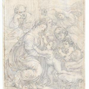 Eugene Delacroix - Sagrada Família (Copia de Rafael)