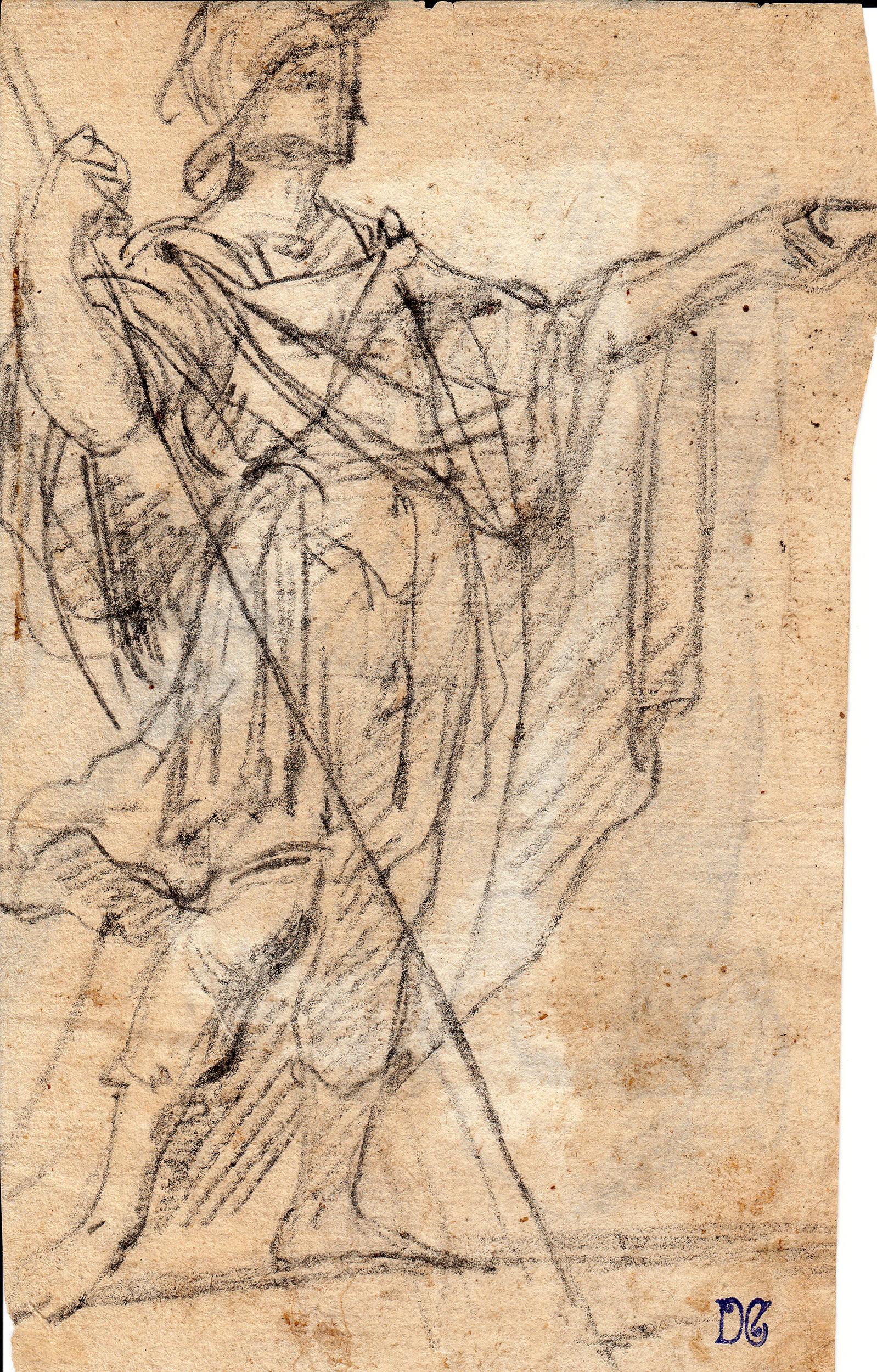 Anónimo – Soldado romano con lanza