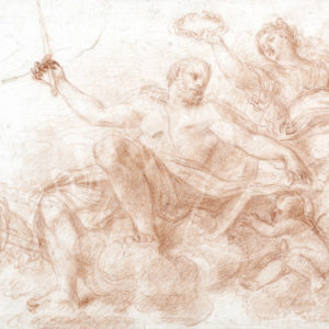 Baldassare Franceschini - Alegoría de la coronación