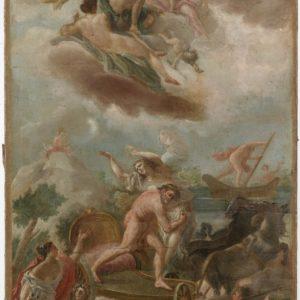 Escuela de Goya. Rapto de Proserpina