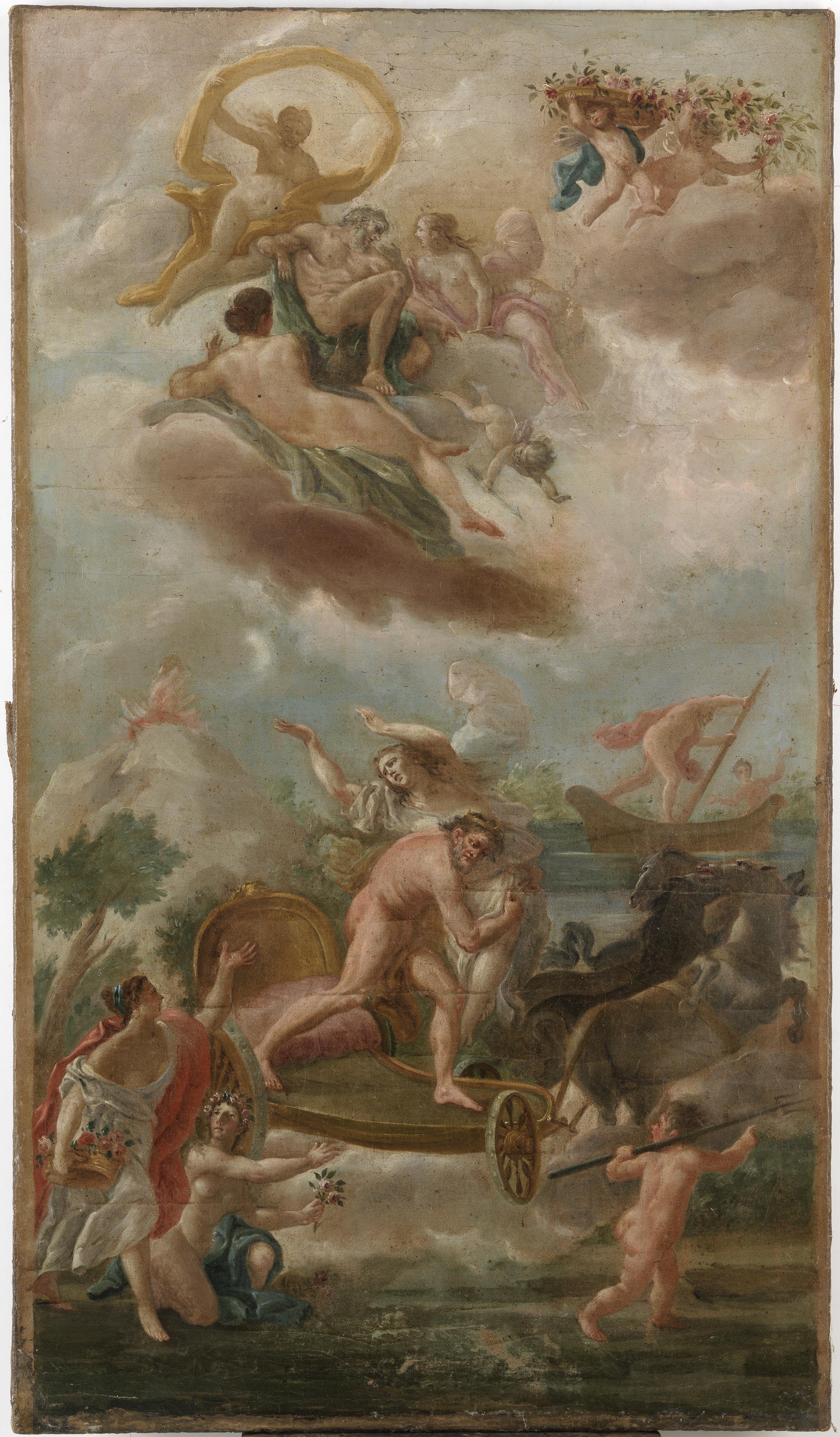 Escuela de Goya-Rapto de Proserpina