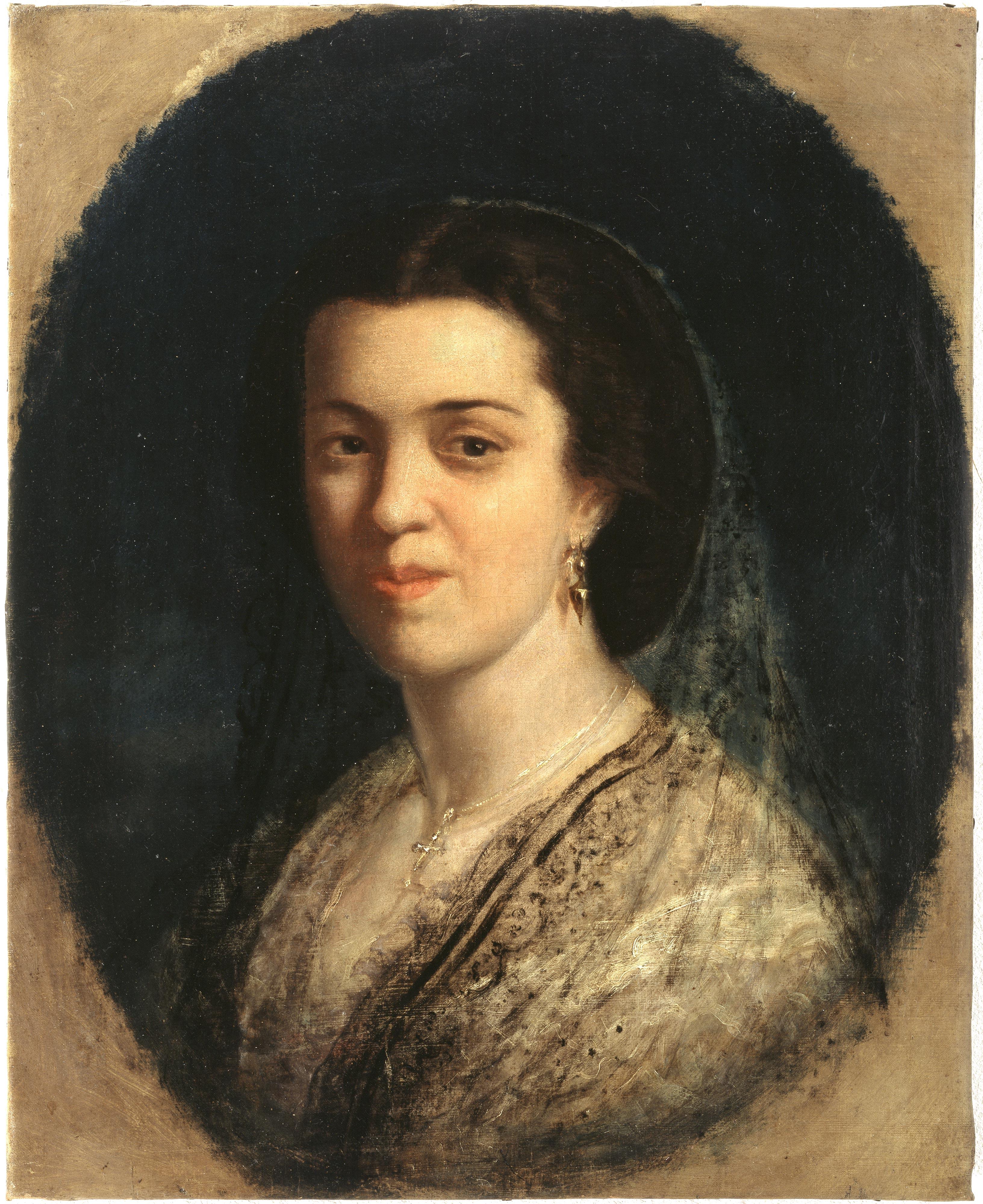 Federico de Madrazo – Señora desconocida