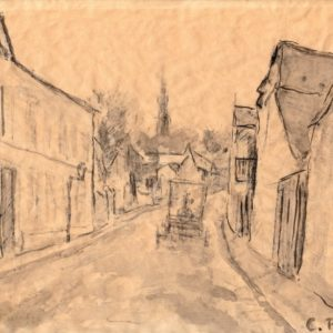 Camille Pissarro - Paisaje urbano