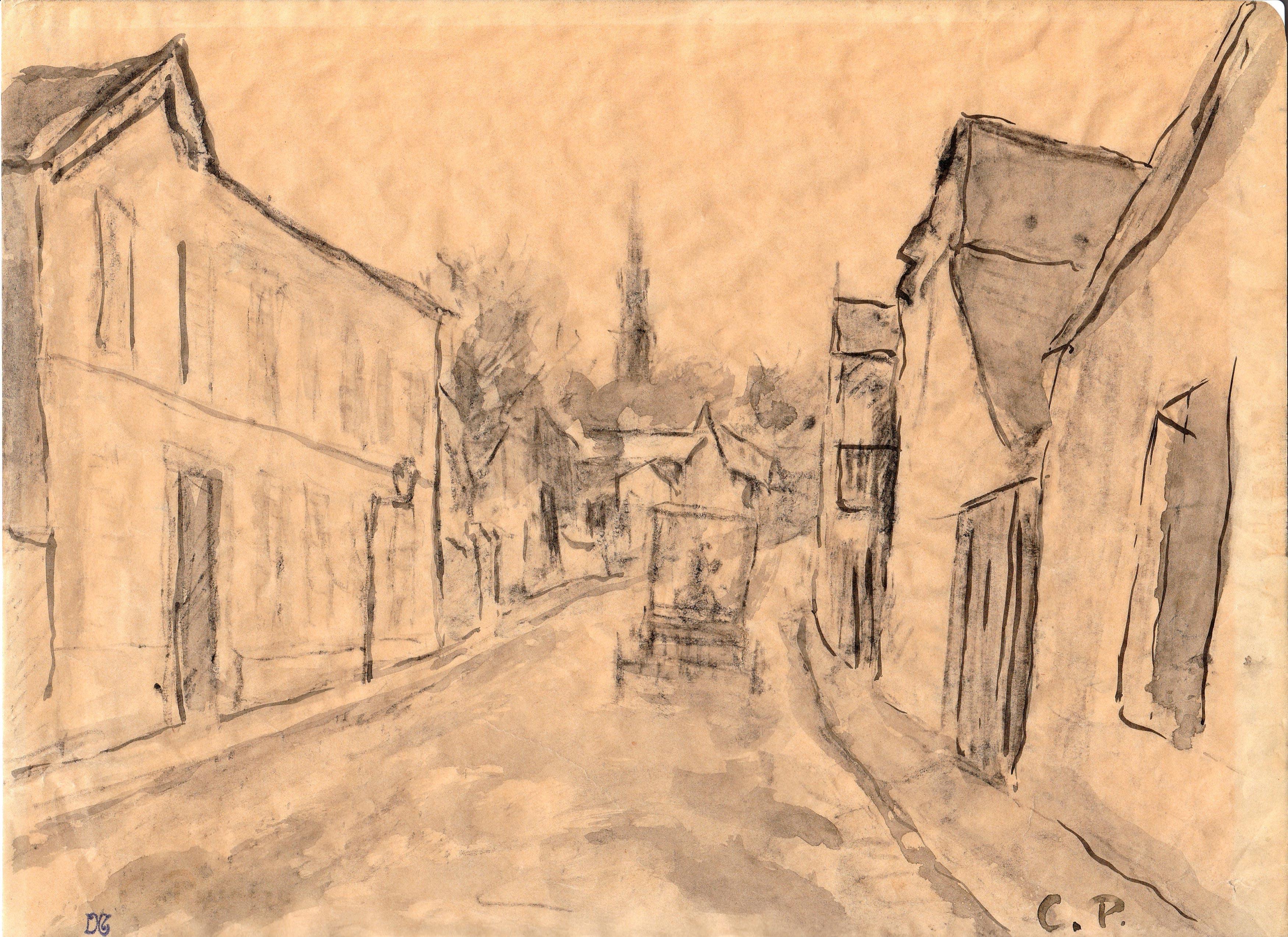 Camille Pissarro – Paisaje urbano