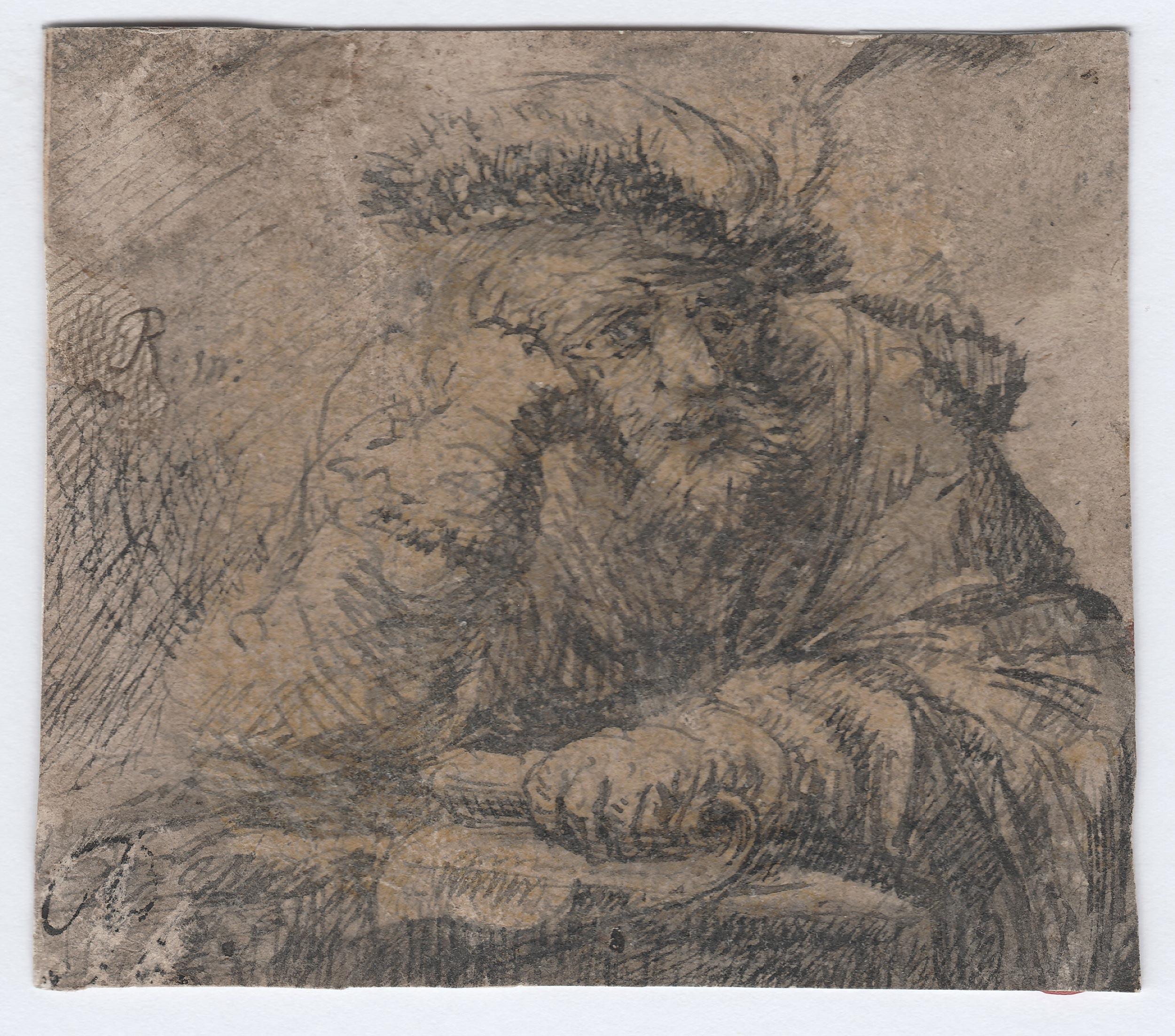 Círculo de Rembrandt – Personaje sentado