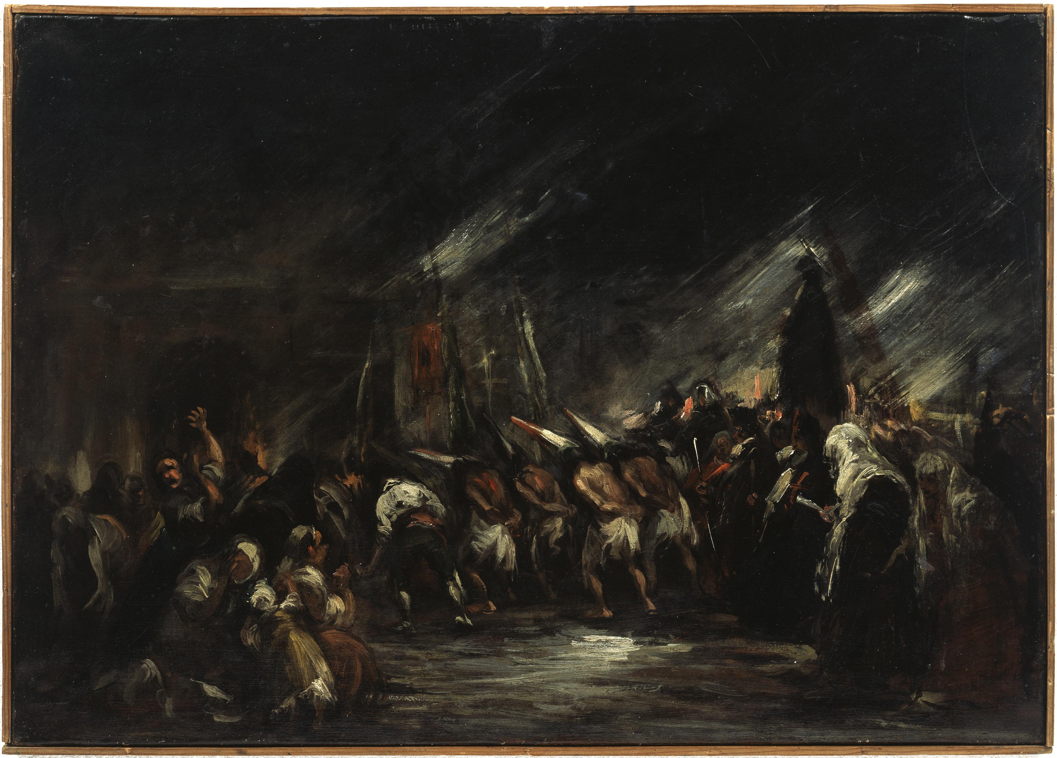Círculo de Goya – Procesión de disciplinantes