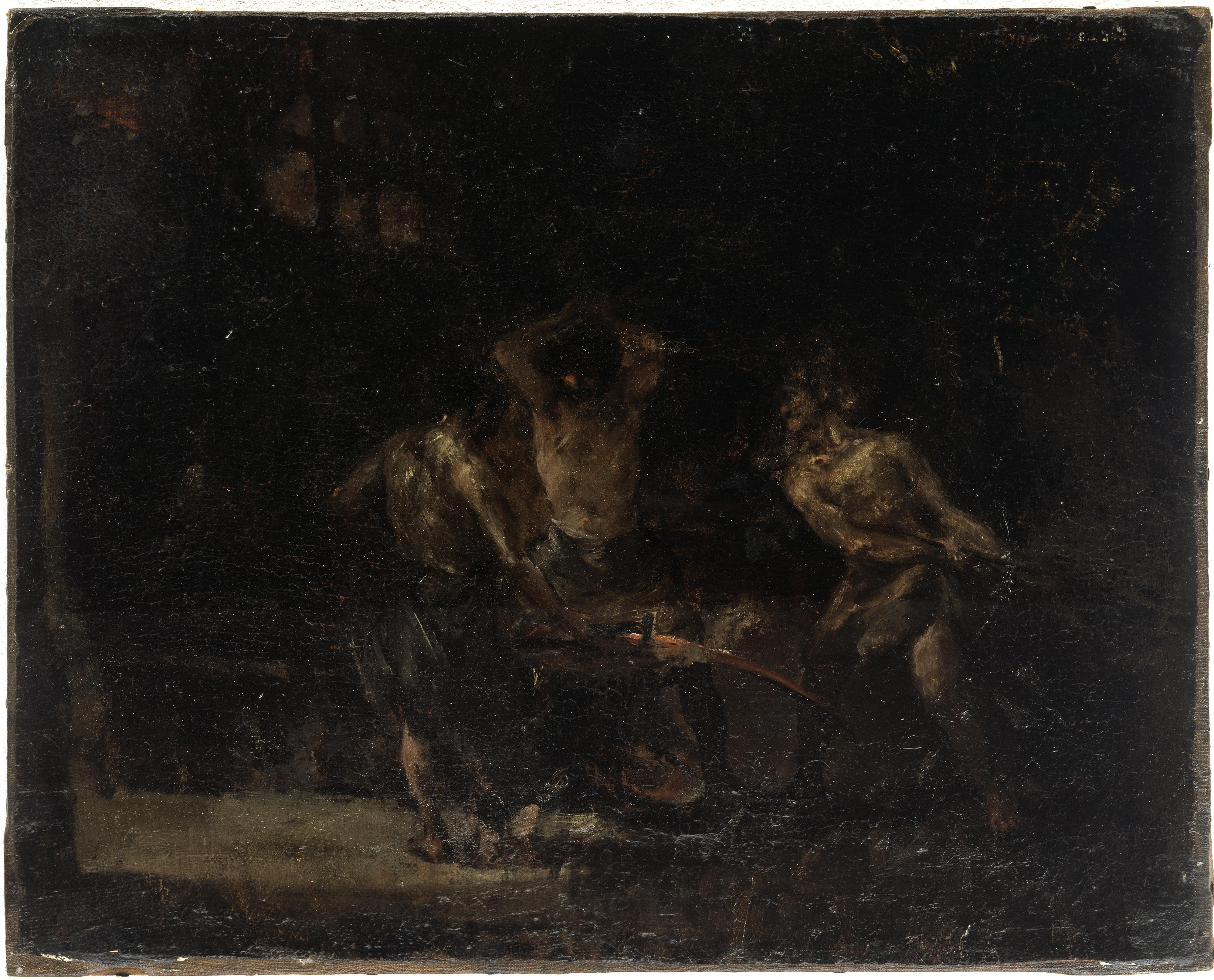 Francisco de Goya (Atribuido) – La Fragua