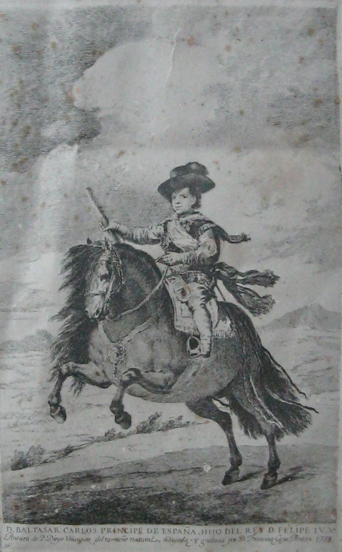 Francisco de Goya – D. Baltasar Carlos, Príncipe de España