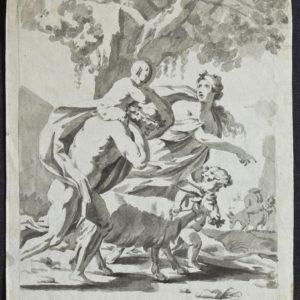 Círculo de Goya-Baco y Ariadna