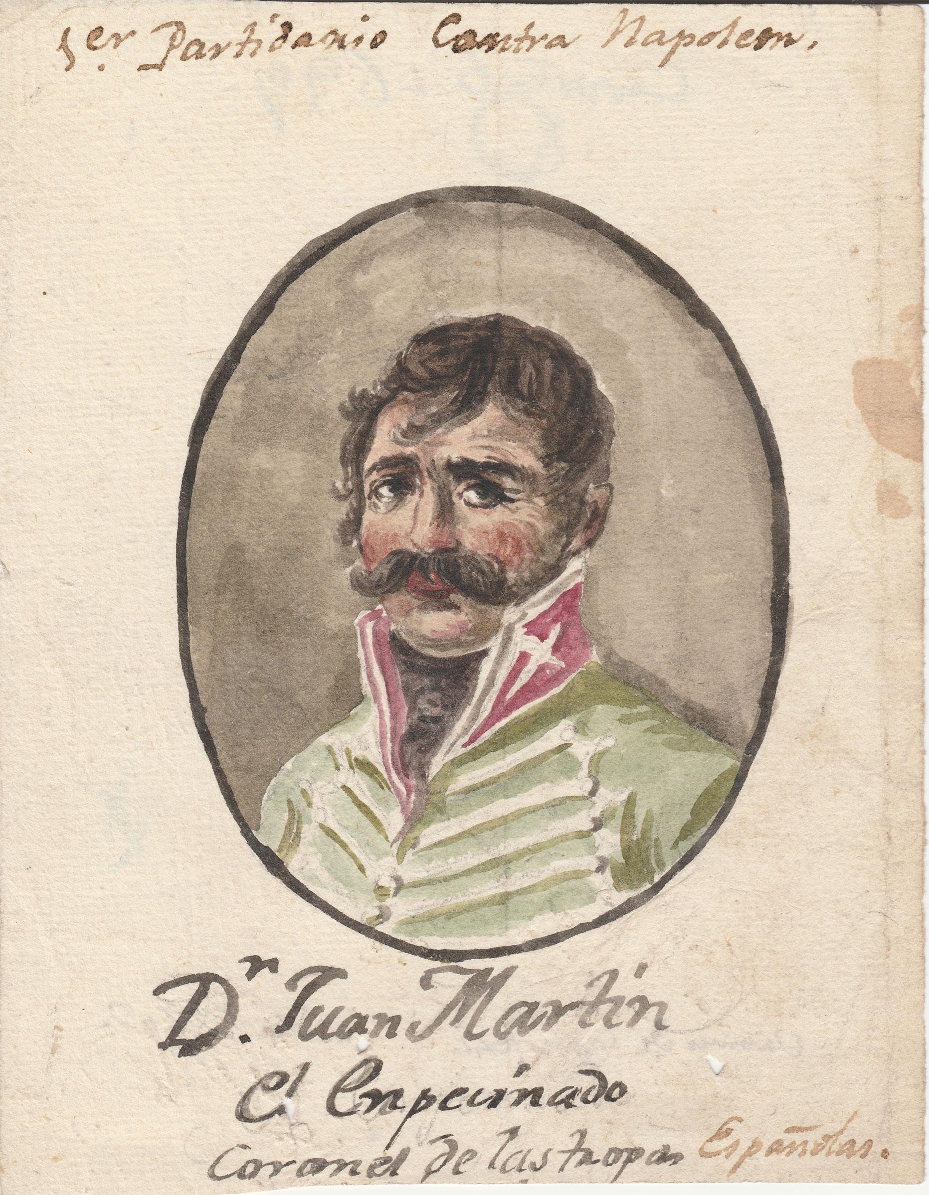 Goya (Atribuido) Don Juan Martin, El Empecinado