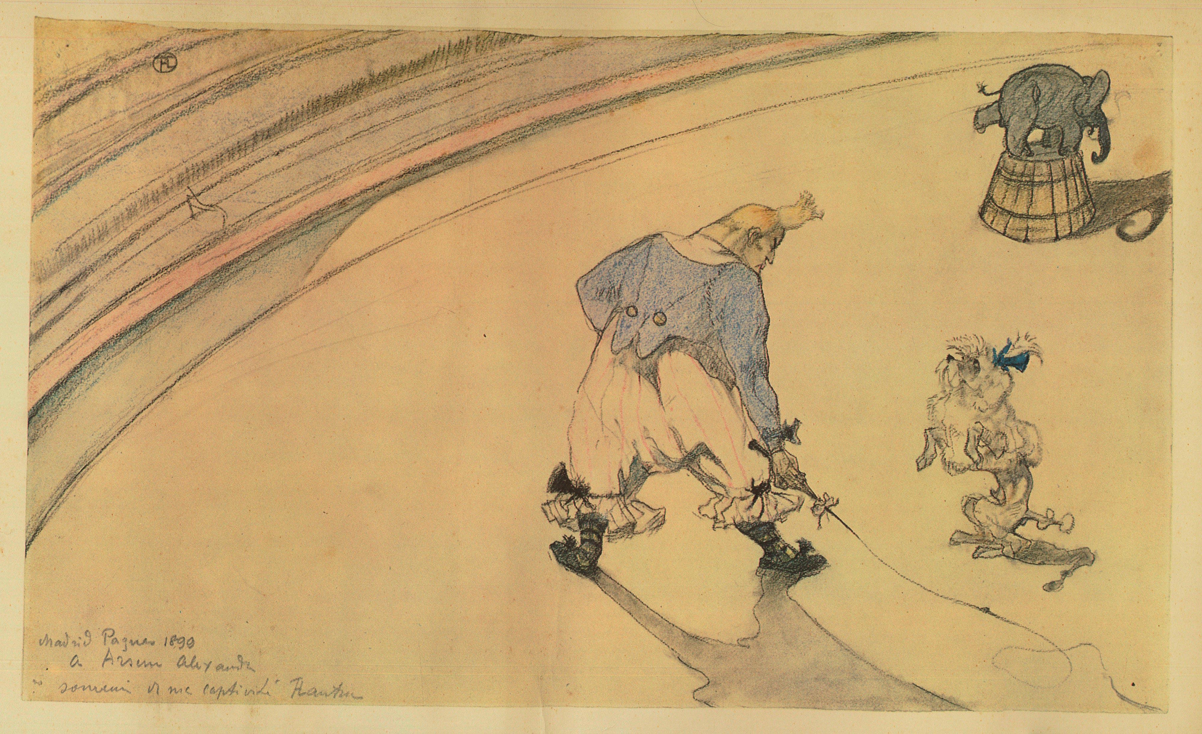 Toulouse Lautrec – Nouveau Cirque