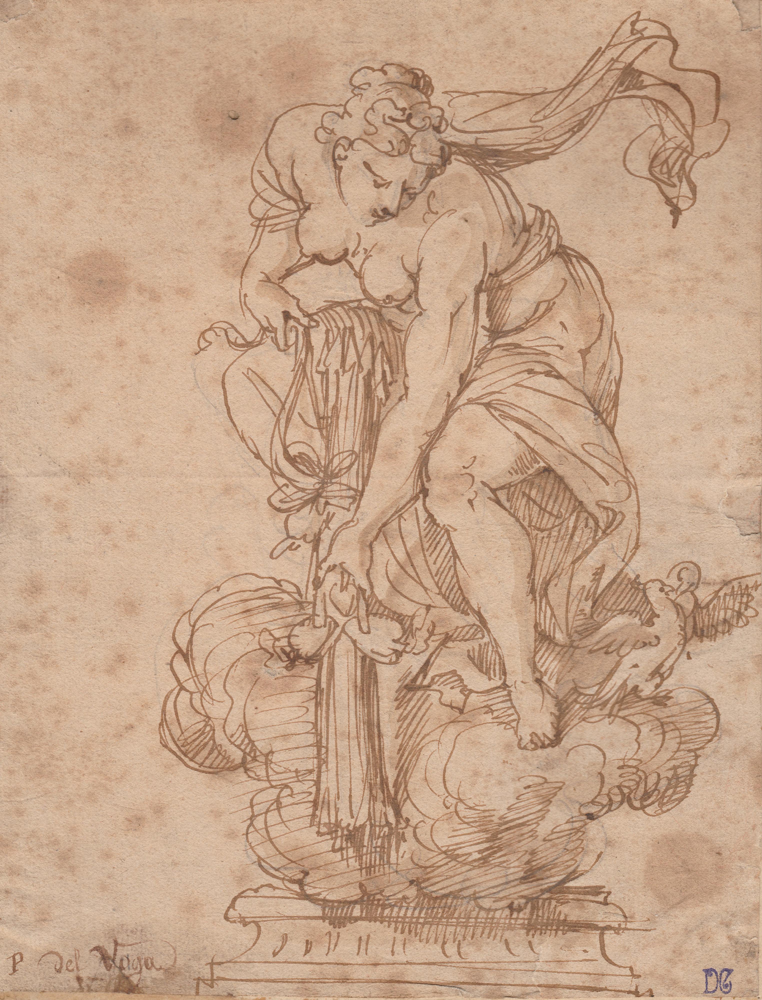 Pietro Bonaccorsi (Perino del Vaga) – Diana cazadora