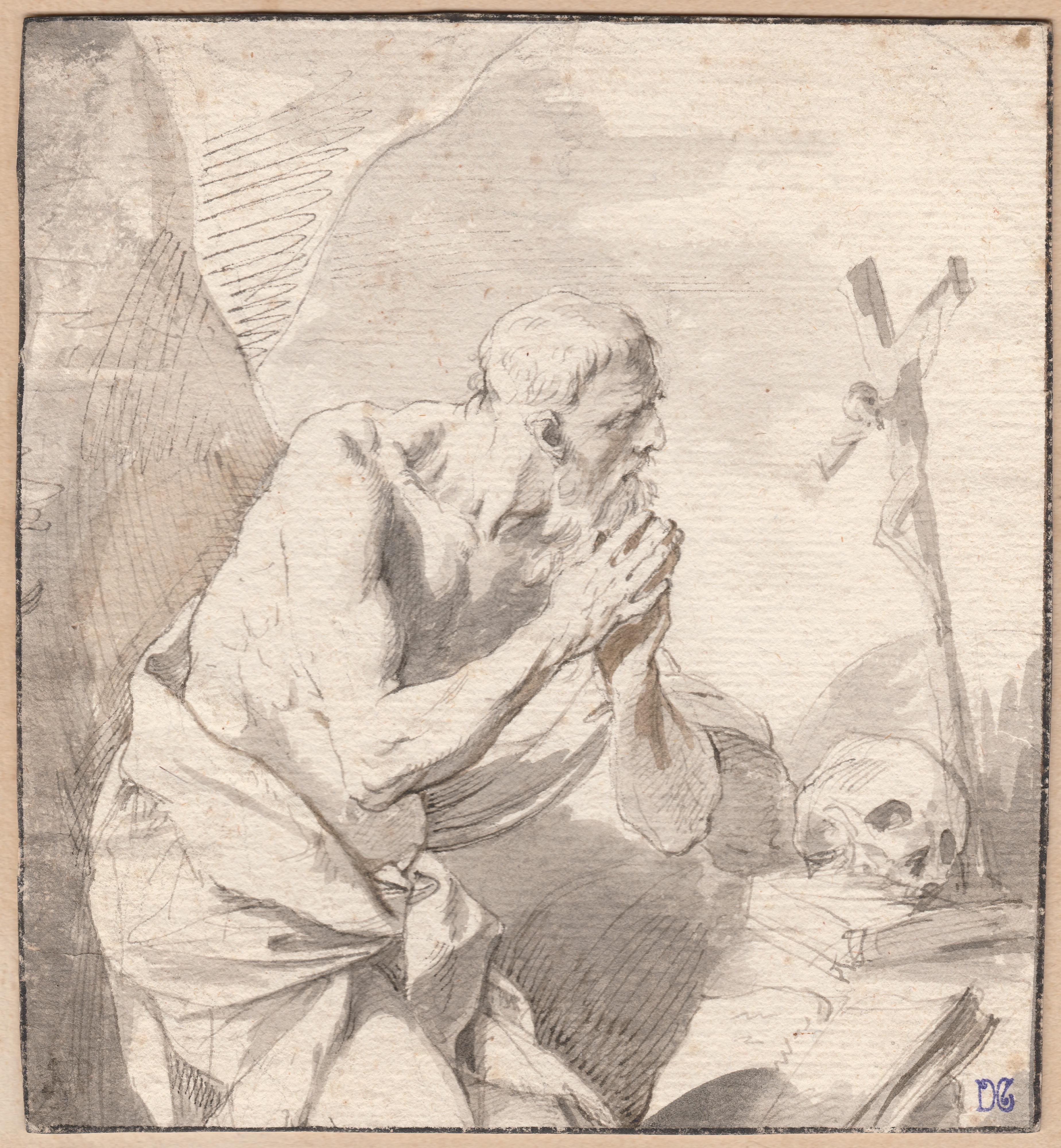 José de Ribera (Atribuido) – San Jerónimo