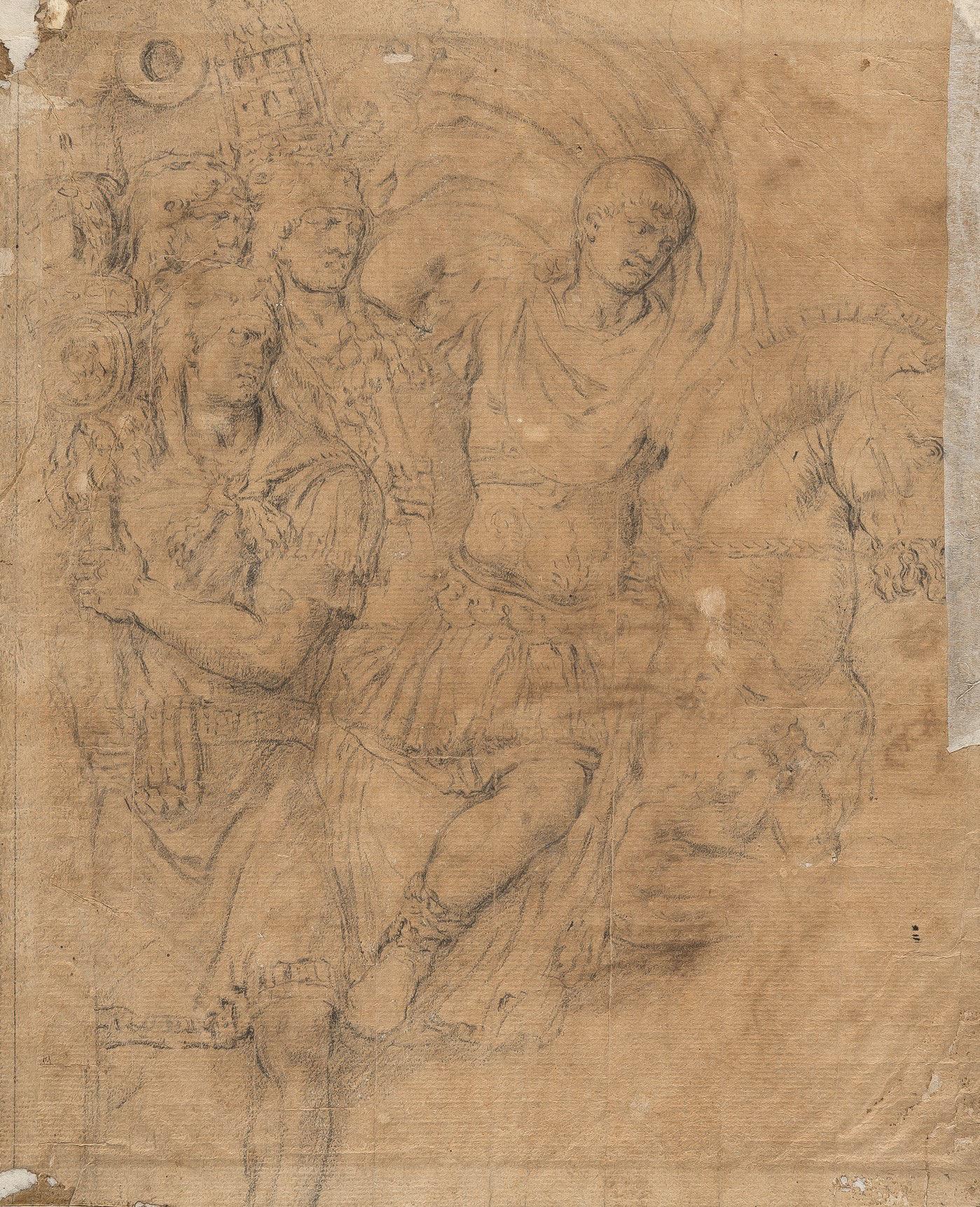 Giulio Pippi (Giulio Romano) – Batalla del puente Milvio